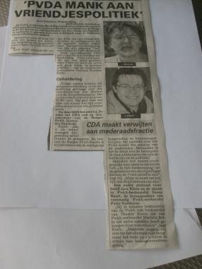 Telegraaf 07.05.09
