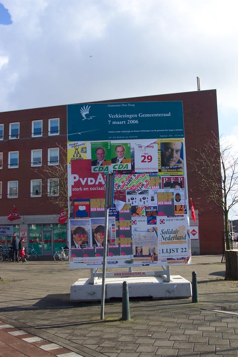 Verkiezingen 2006 gemeente