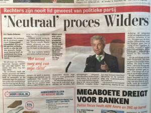 Wilders recht