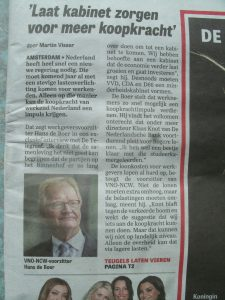 Telegraaf 16.06.2017